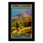 Come to Ulster Posters