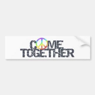 Come Together bumper sticker