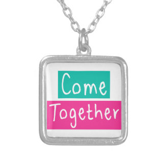 Come Together Silver Plated Necklace
