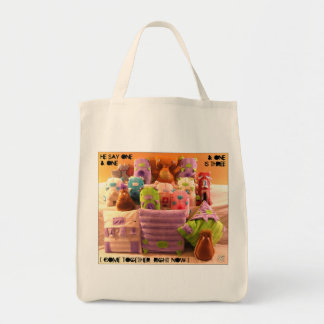 Come Together x Da Holy Rollahz Grocery Tote Bag