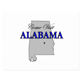 Come Visit Alabama Postcard