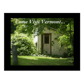 Come Visit Vermont... Postcard