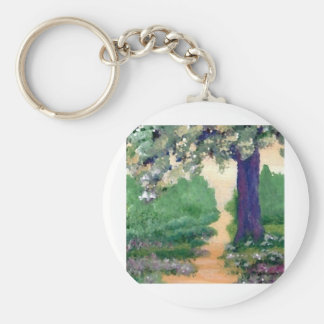 Come Walk With Me - CricketDiane Art Stuff Basic Round Button Key Ring