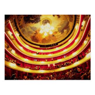 Comedie Francaise Theater, Paris, France Postcard