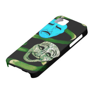 Comedy and Tragedy Barely There iPhone 5 Case