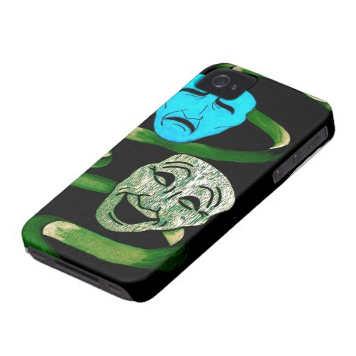 Comedy and Tragedy iPhone 4 Cover