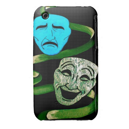 Comedy and Tragedy iPhone 3 Cases