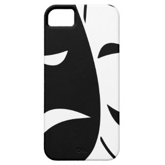 Comedy And Tragedy Mask iPhone 5 Cover