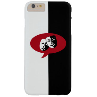 Comedy and Tragedy Masks Barely There iPhone 6 Plus Case