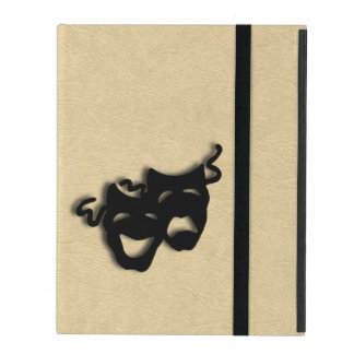 Comedy and Tragedy Masks Theater iPad Case