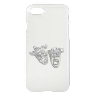 Comedy and Tragedy Silver Theater iPhone 7 Case