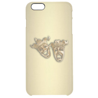 Comedy and Tragedy Theater Clear iPhone 6 Plus Case