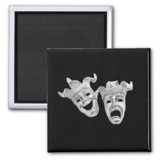 Comedy and Tragedy Theater Magnet