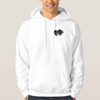 Comedy and Tragedy Theater Masks Hoodie