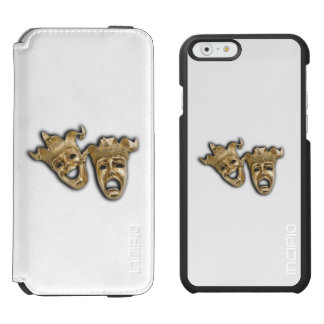 Comedy and Tragedy Theater Masks Incipio Watson™ iPhone 6 Wallet Case