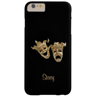 Comedy and Tragedy Unique Theater Monogram Barely There iPhone 6 Plus Case