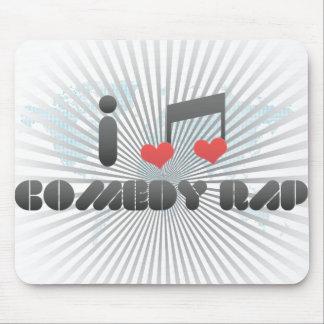 Comedy Rap Mousepad