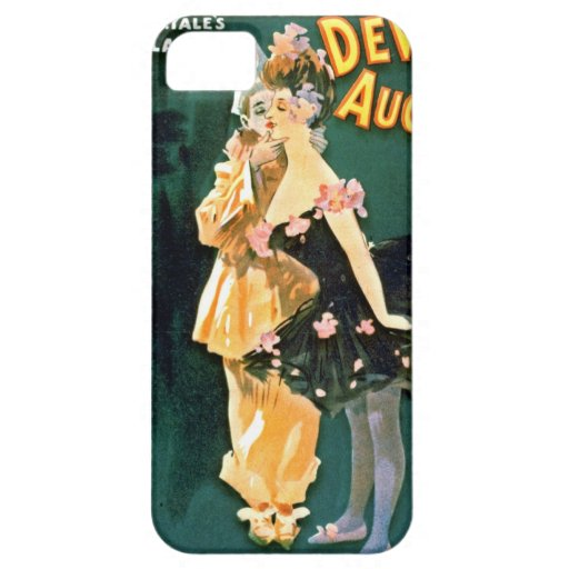 Comedy Stage Revue Playbill 1902 iPhone 5 Cover