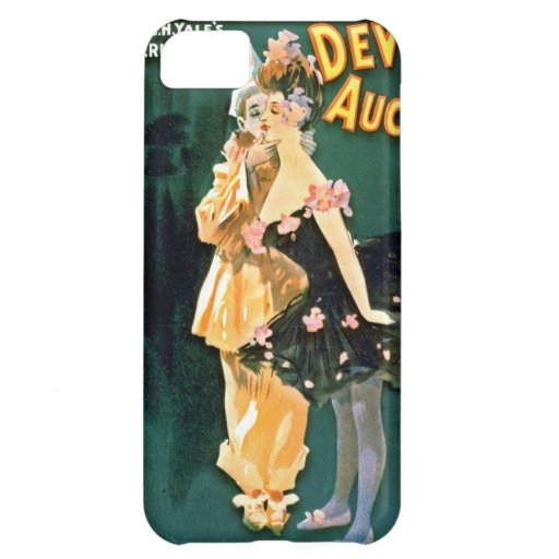 Comedy Stage Revue Playbill 1902 iPhone 5C Cases