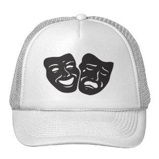 Comedy Tragedy Drama Theatre Masks Cap