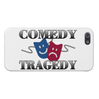 Comedy Tragedy iPhone 5 Cases