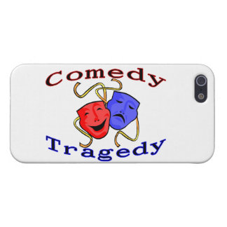 Comedy Tragedy Theatre Masks iPhone 5 Case