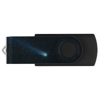 Comet in Night Sky USB Flash Drive