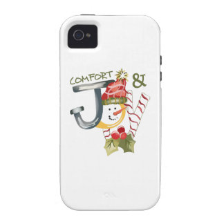 COMFORT AND JOY iPhone 4/4S COVER