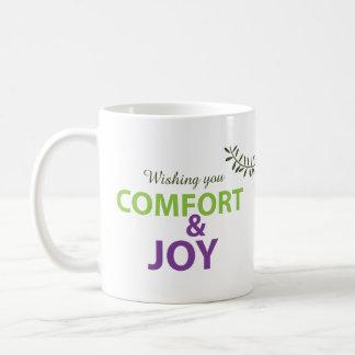Comfort and Joy Holidayz Mug