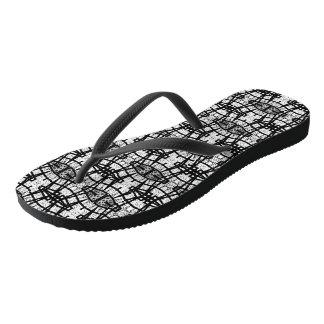Comfort Flip Flops - Chat (Art Design-b) Thongs