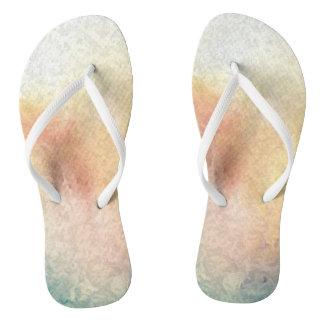 Comfort Flip Flops - Watercolor