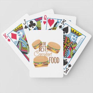 Comfort Food Poker Deck