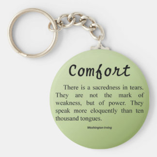 Comfort for Tears Keychains
