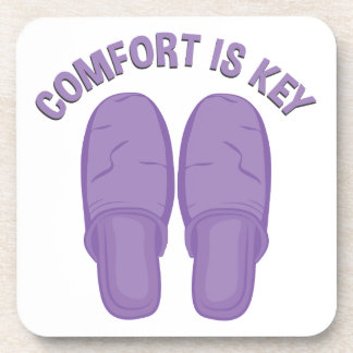 Comfort Is Key Coaster