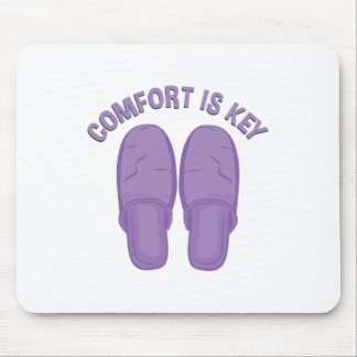 Comfort Is Key Mouse Pad