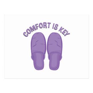 Comfort Is Key Postcard
