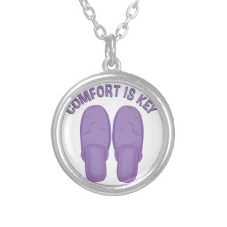 Comfort Is Key Silver Plated Necklace
