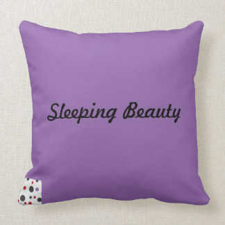 Comfortable and soft sleeping beauty cushions