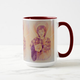 Comforting Angel by Carol Zeock Mug