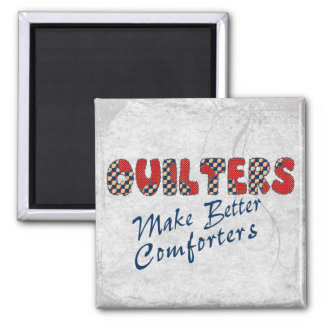 Comforting Quilters Square Magnet