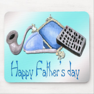 Comforts of Home - Happy Father's Day Mousepad