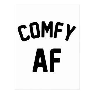 Comfy AF Postcard