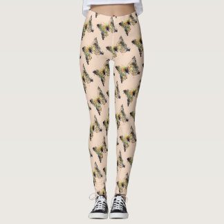 Comfy Hipster Leggings butterfly
