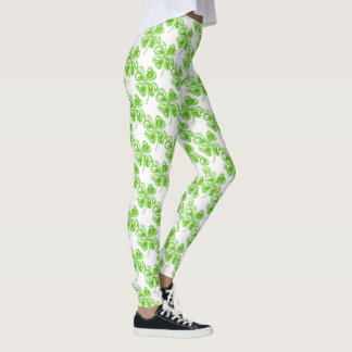 Comfy Hipster Leggings shamrock green