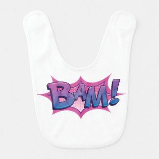 Comic BAM! Bib
