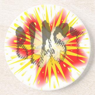 Comic Blast Coaster