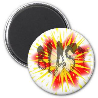 Comic Blast Magnet
