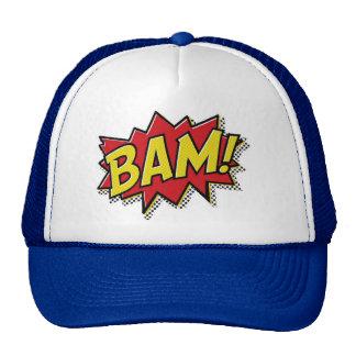 comic book bam! cap