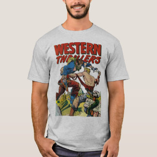 Comic Book Cover Art: Western Thrillers #2 T-Shirt