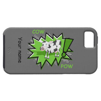 Comic book cow iPhone 5 covers
